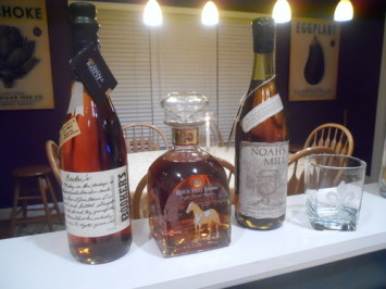 Conduct your own bourbon tasting.